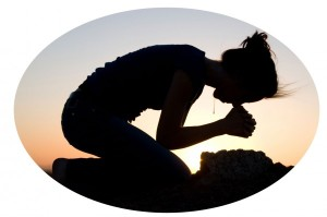 adult child of divorce praying to God