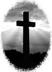 black white cross 2
