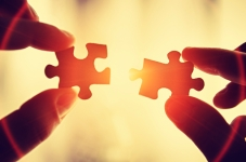 puzzle-pieces couple together