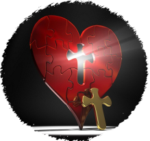 heart with Cross cropped png